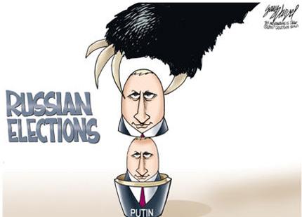 Rusya seçimlerinde siyasal iletişim uygulamaları