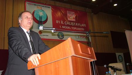 """""""Türkiye'nin Stratejik Vizyonu 2023"""" projesi start aldı"""