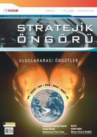 Stratejik Öngörü Dergisi Sayı: 11